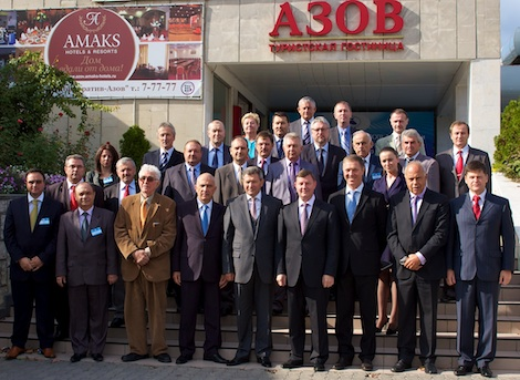 Participants of the 22nd IBSC Assembly in Azov