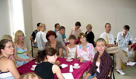Meeting of Russian and German students at the Taganrog Management and Economics College