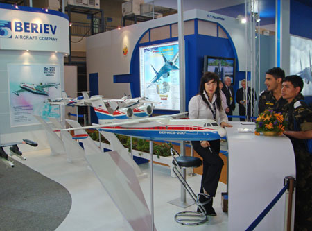 Beriev Aircraft Company at Aero India 2009 EXPO