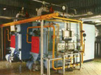 Automated hot-water boilers