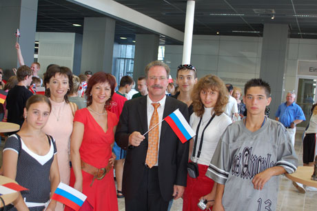 Taganrog's delegates at the reception given by the Mayor of Lüdenscheid