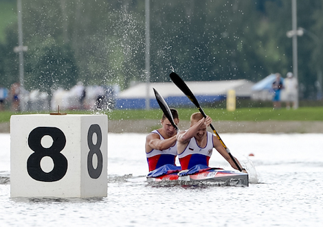 Russian bronze medalists in K2 under 23 Men 1000 m