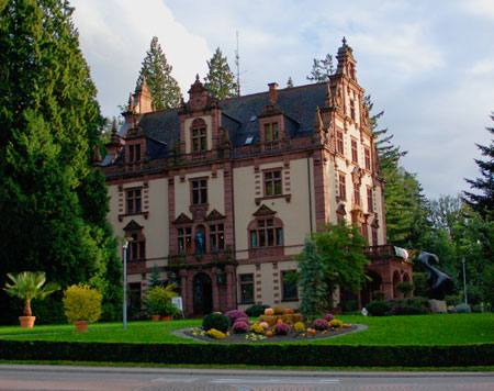 Grossherzogliches Palais in Badenweiler, the venue for the exhibition Russian Intermezzi on the Upper Rhine