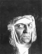 Ranevskaya in Sergei Eisenstein's Ivan the Terrible (1942)