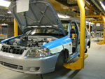 Hyundai Accent assembly line in Taganrog