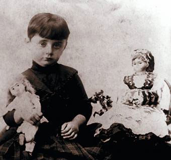 Sophia Parnok in childhood